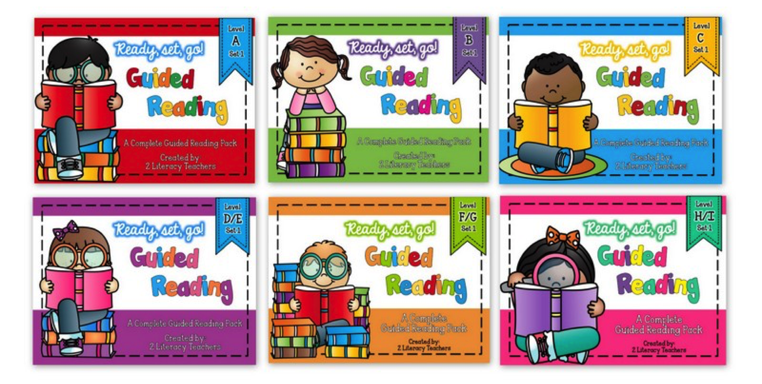 Ready, set, go …Guided Reading – Set 1 is ready!