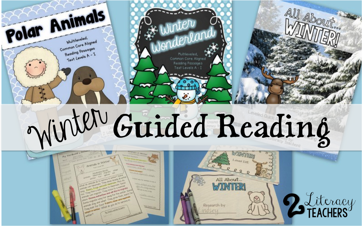 Winter Guided Reading Ideas…
