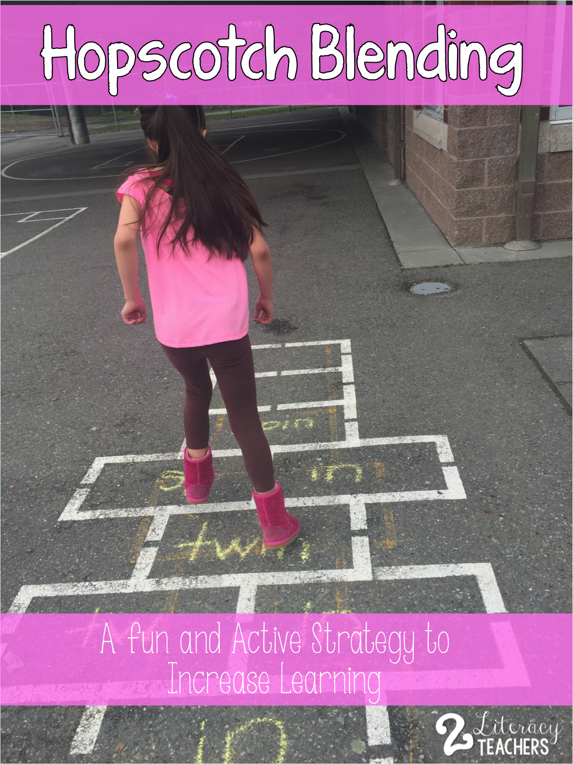 Hopscotch Blending – A fun and active strategy to increase learning PLUS a Freebie!!