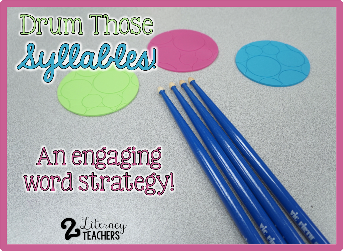 Tuesday's Tip – Drum Those Syllables!