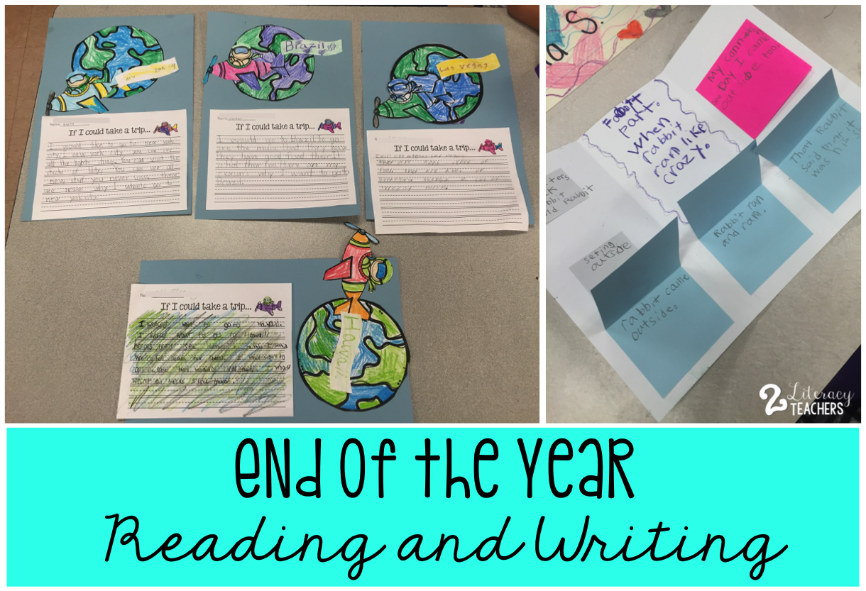 End of the Year: Reading and Writing