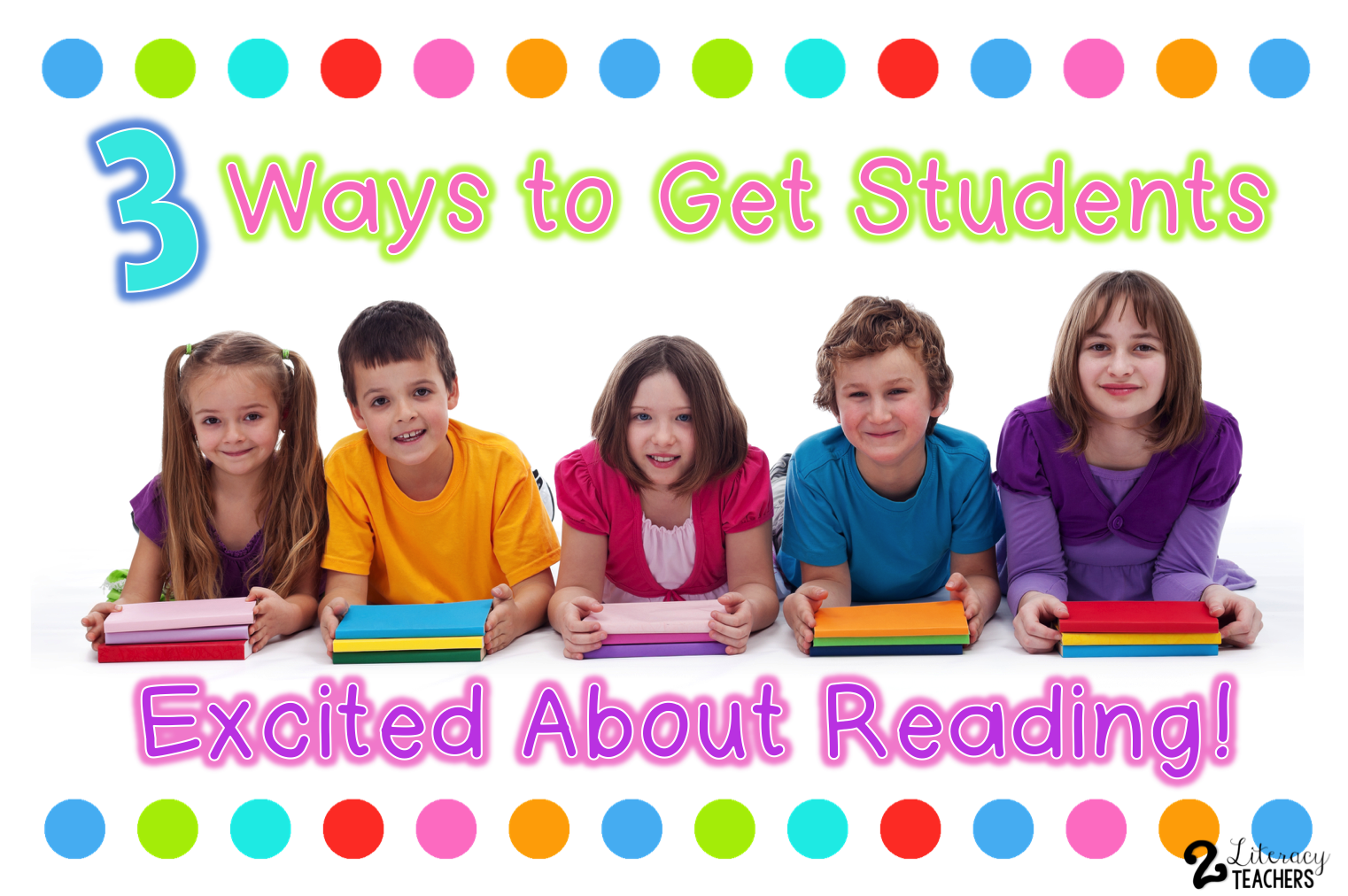 3 ways to get your students super excited about reading in the first week of school!