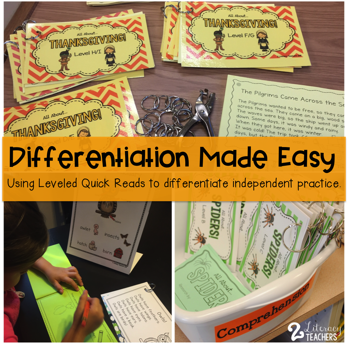 Differentiation Made Easy: Leveled Quick Reads