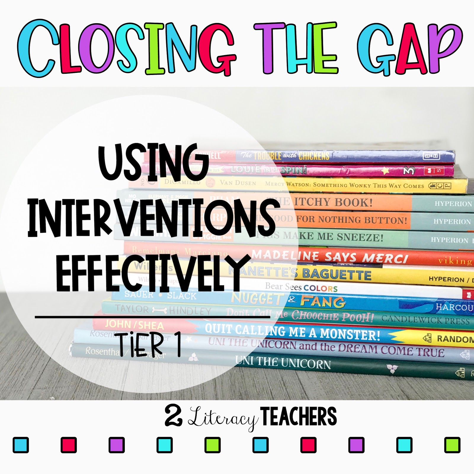 Closing the Gap – Using Interventions Effectively – #1