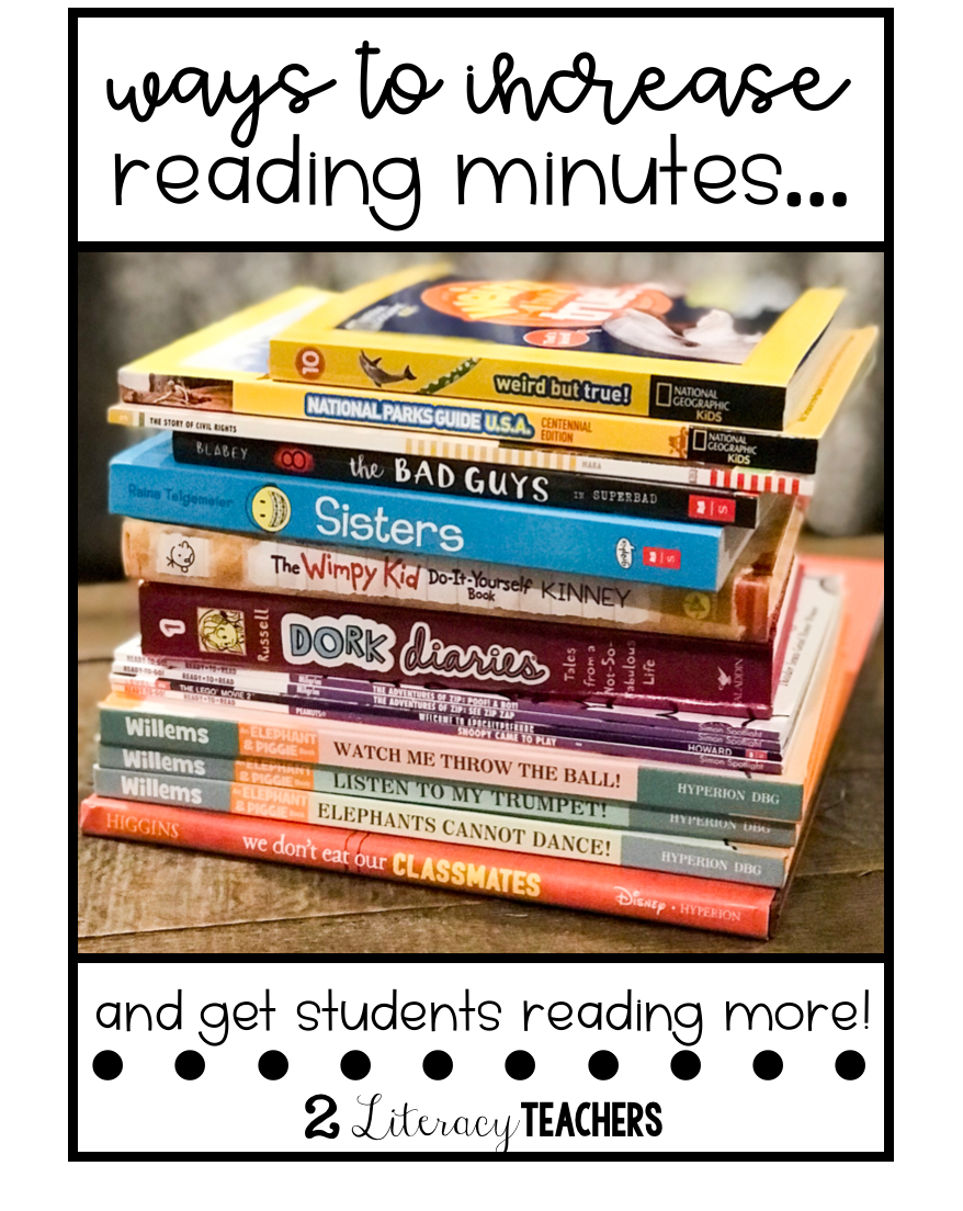 Increasing Reading Time!  Here's how!