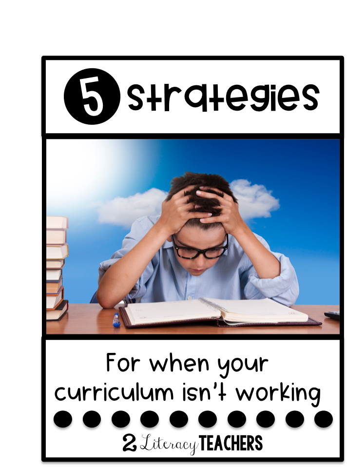 5 Strategies for When Your Reading Curriculum Isn't Working